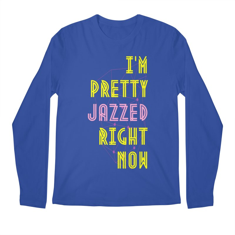 Jazzed Men's Regular Longsleeve T-Shirt by Wild Roots Artist Shop
