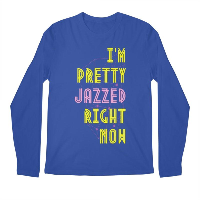 Jazzed Men's Longsleeve T-Shirt by Wild Roots Artist Shop