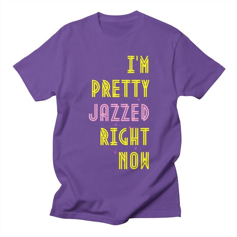 Jazzed Women's Regular Unisex T-Shirt by Wild Roots Artist Shop