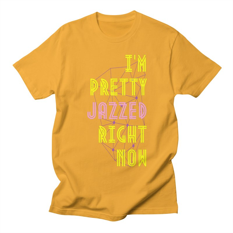 Jazzed Men's T-Shirt by Wild Roots Artist Shop