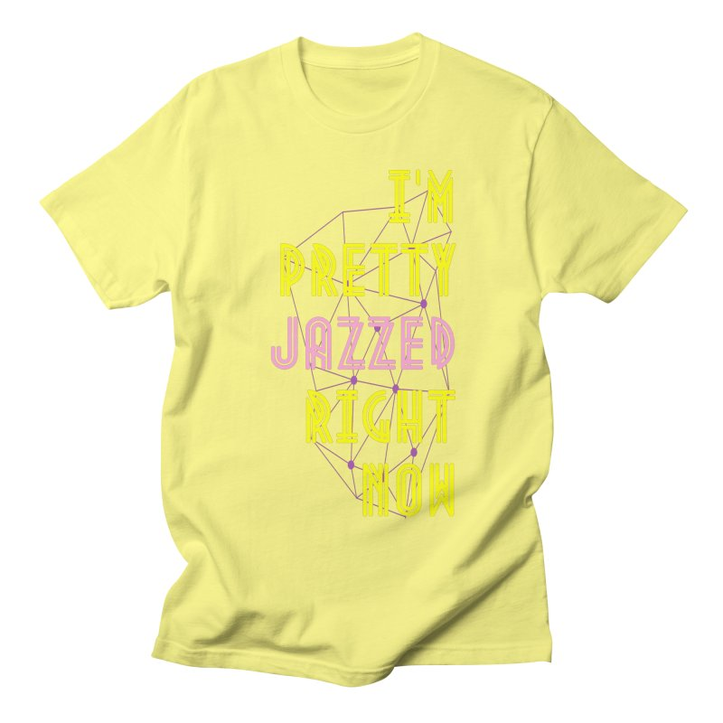 Jazzed Men's T-Shirt by Wild Roots Artist Shop
