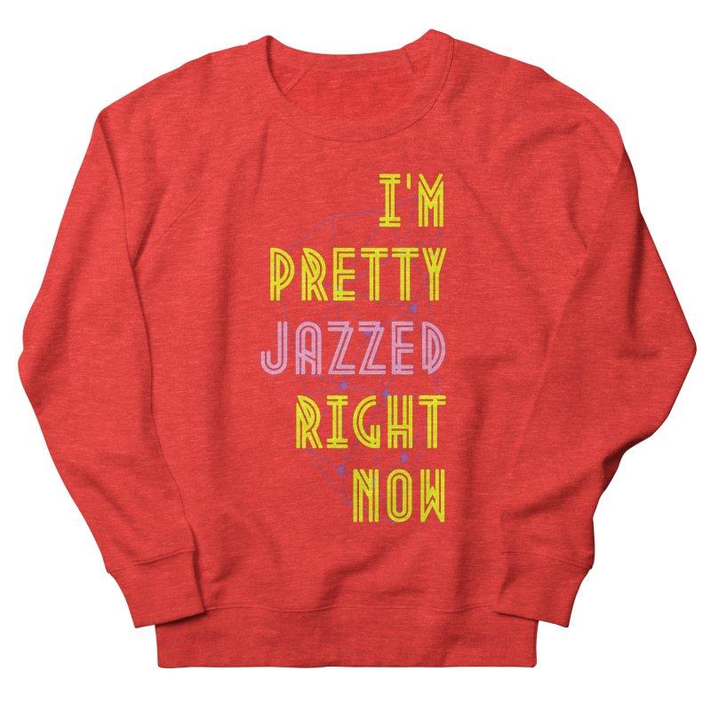 Jazzed Men's Sweatshirt by Wild Roots Artist Shop