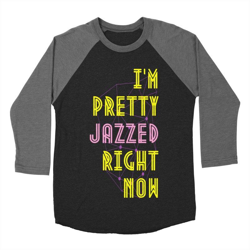 Jazzed Men's Baseball Triblend Longsleeve T-Shirt by Wild Roots Artist Shop