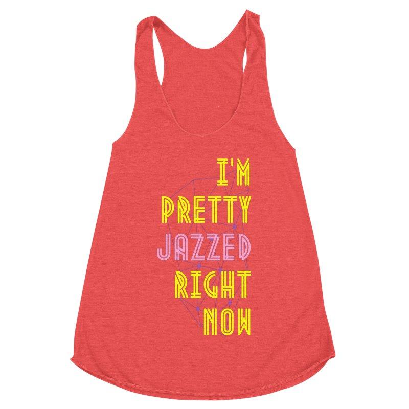 Jazzed Women's Tank by Wild Roots Artist Shop