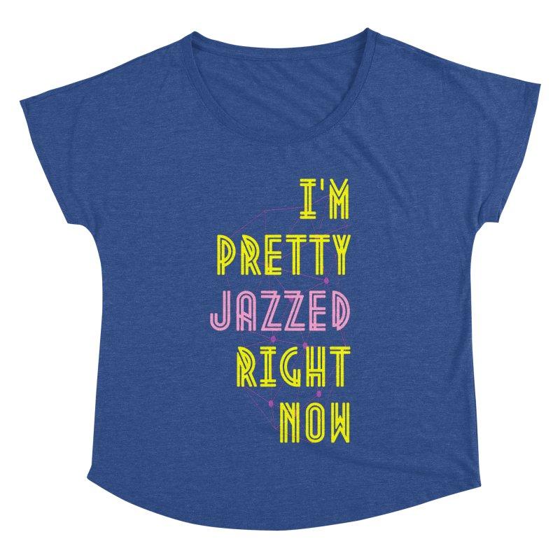 Jazzed Women's Dolman Scoop Neck by Wild Roots Artist Shop