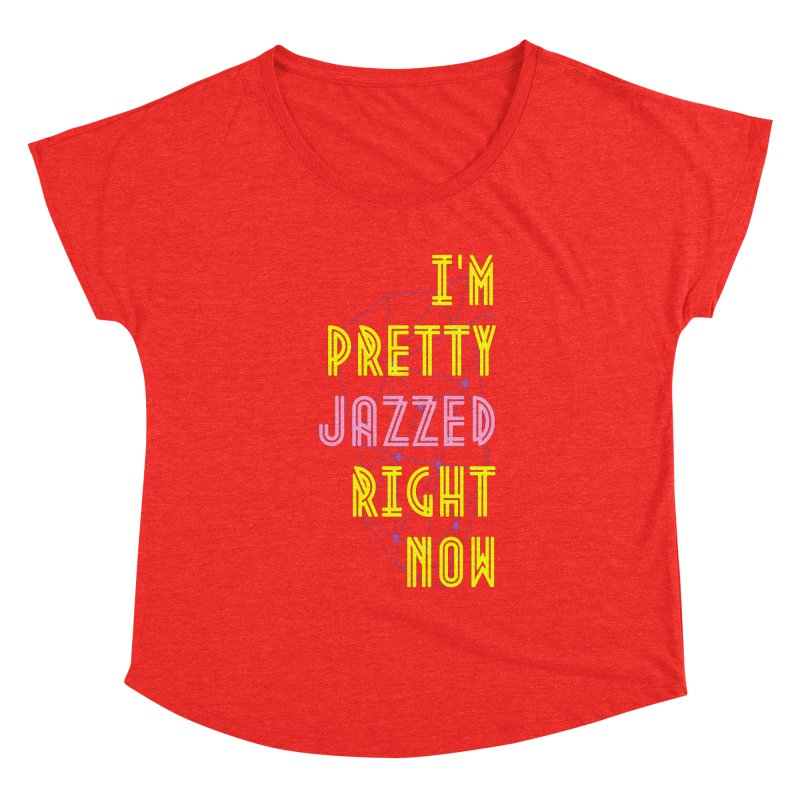 Jazzed Women's Scoop Neck by Wild Roots Artist Shop