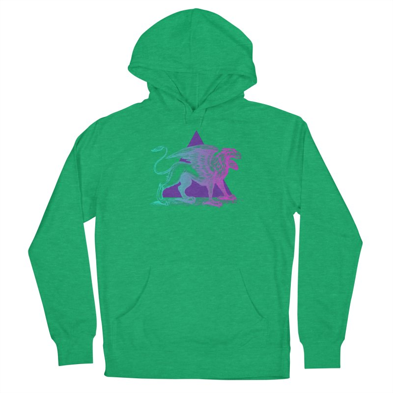 Griffin V2.0 Men's French Terry Pullover Hoody by Wild Roots Artist Shop