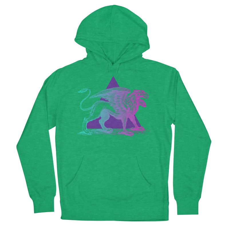 Griffin V2.0 Women's French Terry Pullover Hoody by Wild Roots Artist Shop