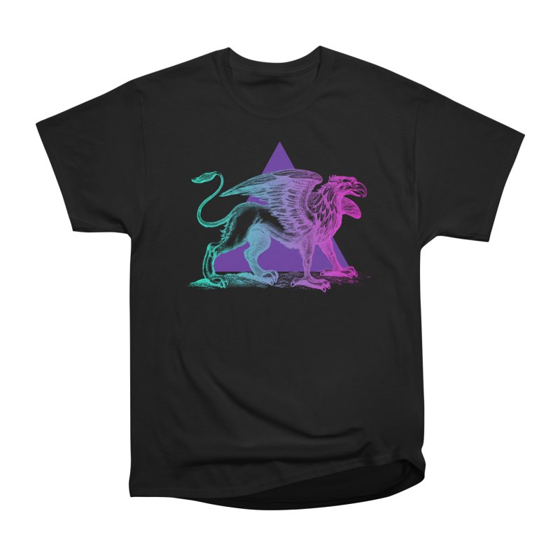 Griffin V2.0 Men's Heavyweight T-Shirt by Wild Roots Artist Shop