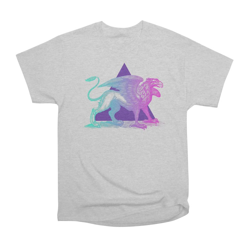 Griffin V2.0 Men's Heavyweight T-Shirt by Wild Roots Artist Shop