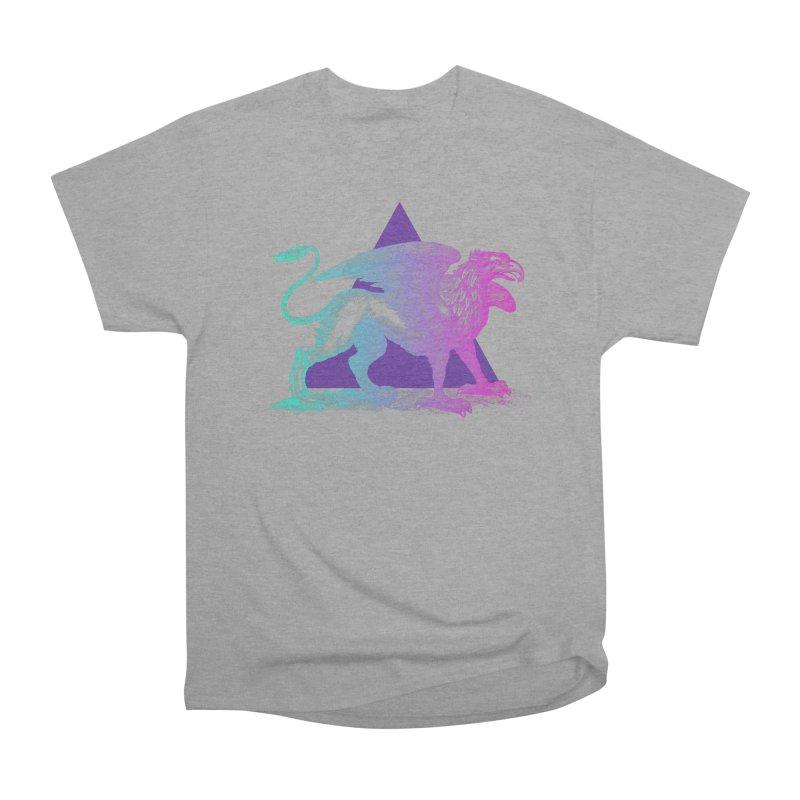 Griffin V2.0 Women's Heavyweight Unisex T-Shirt by Wild Roots Artist Shop