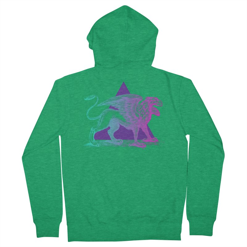 Griffin V2.0 Women's Zip-Up Hoody by Wild Roots Artist Shop