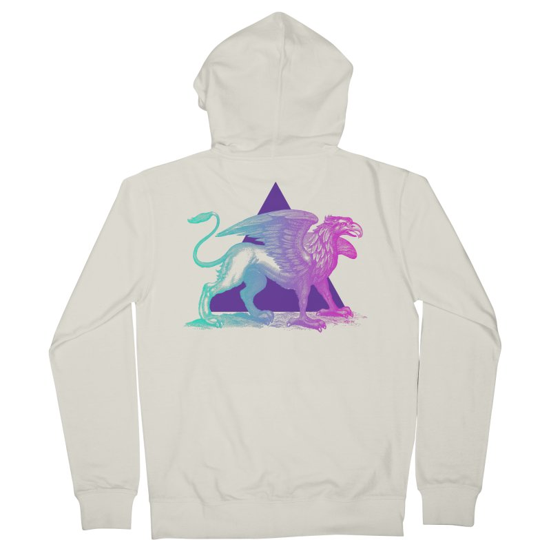 Griffin V2.0 Women's French Terry Zip-Up Hoody by Wild Roots Artist Shop