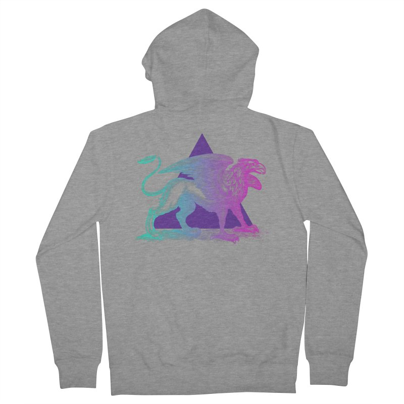 Griffin V2.0 Men's French Terry Zip-Up Hoody by Wild Roots Artist Shop