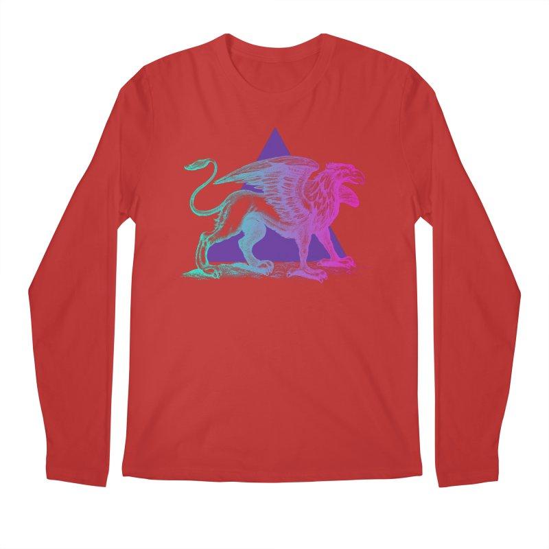 Griffin V2.0 Men's Regular Longsleeve T-Shirt by Wild Roots Artist Shop
