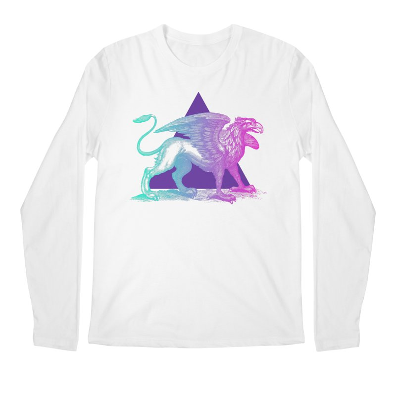 Griffin V2.0 Men's Regular Longsleeve T-Shirt by Wild Roots Artist Shop