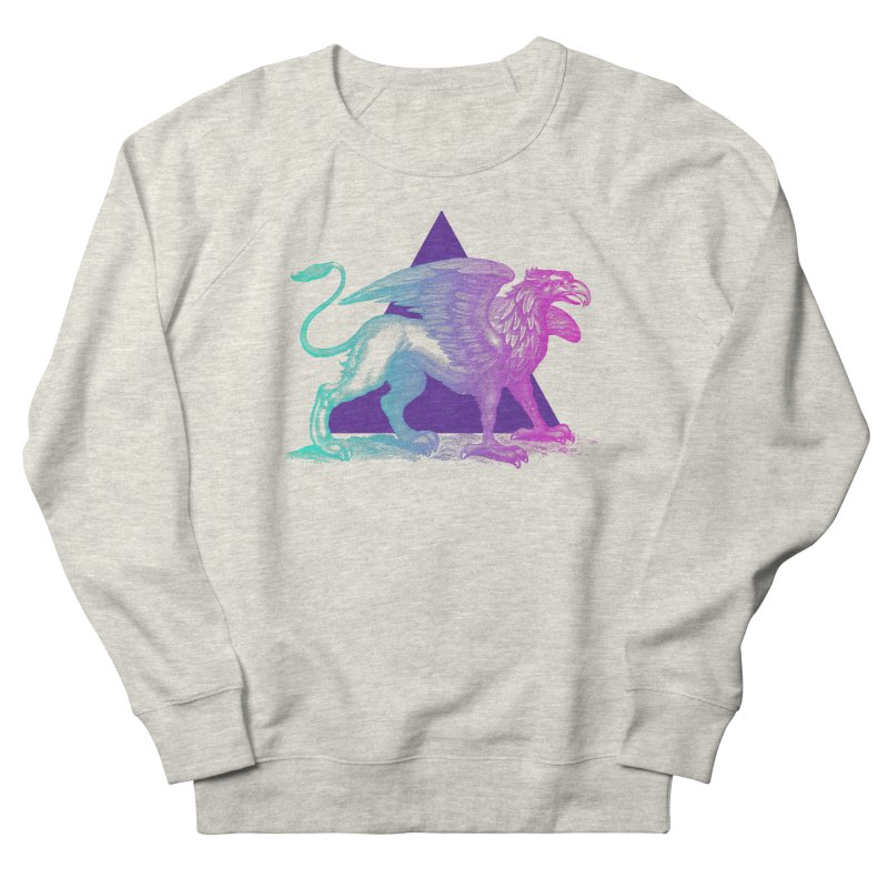 Griffin V2.0 Women's French Terry Sweatshirt by Wild Roots Artist Shop