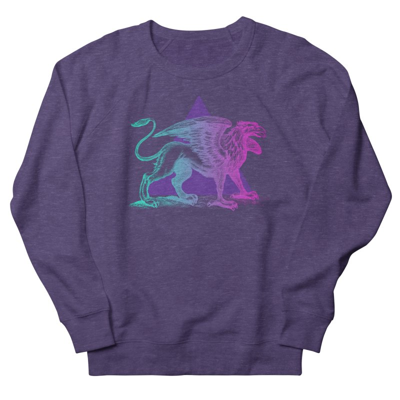 Griffin V2.0 Men's French Terry Sweatshirt by Wild Roots Artist Shop