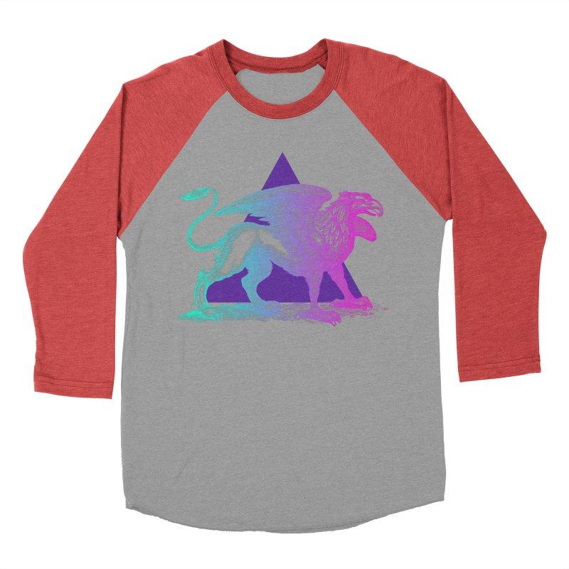 Griffin V2.0 Women's Baseball Triblend Longsleeve T-Shirt by Wild Roots Artist Shop