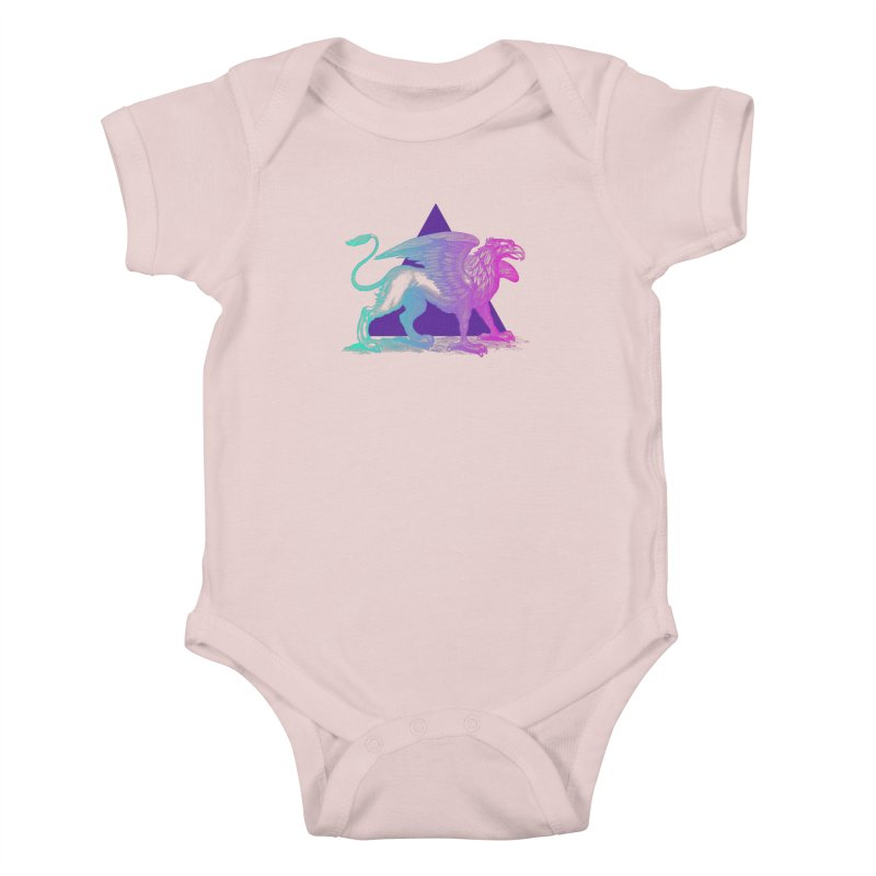 Griffin V2.0 Kids Baby Bodysuit by Wild Roots Artist Shop