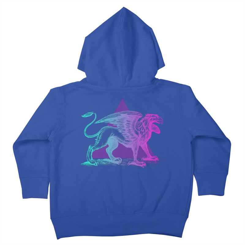 Griffin V2.0 Kids Toddler Zip-Up Hoody by Wild Roots Artist Shop