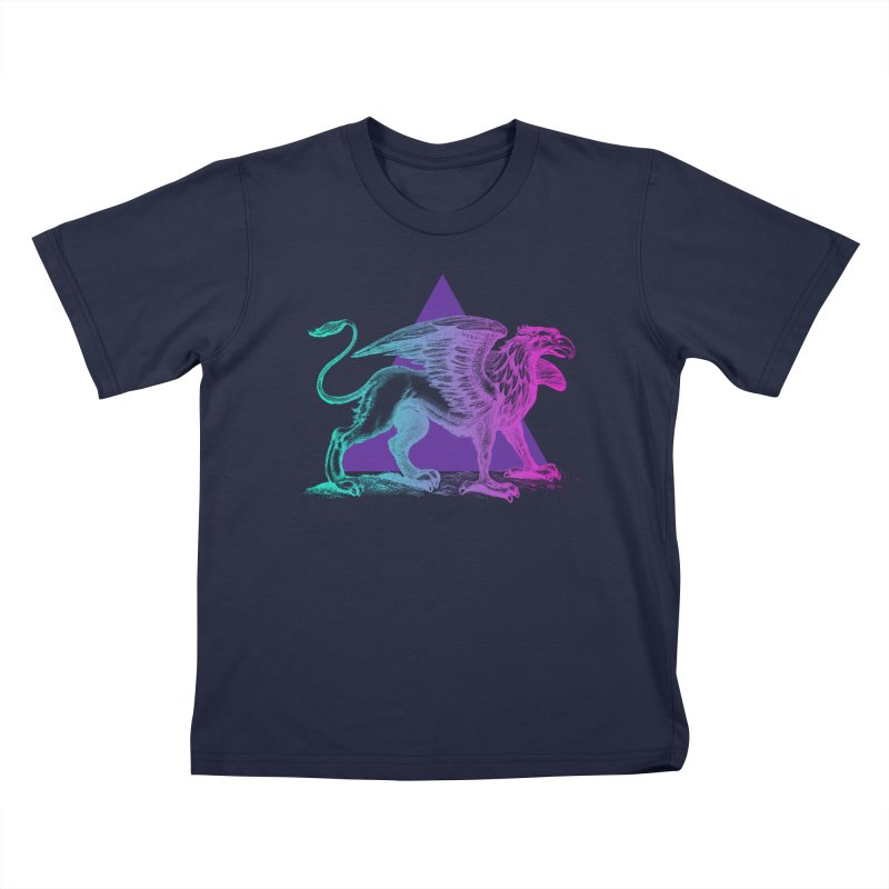 Griffin V2.0 Kids T-Shirt by Wild Roots Artist Shop