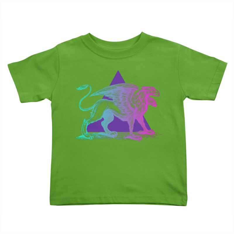 Griffin V2.0 Kids Toddler T-Shirt by Wild Roots Artist Shop