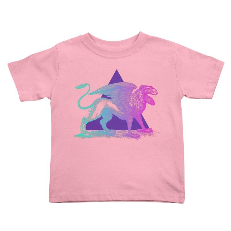 Griffin V2.0 Kids Toddler T-Shirt by Wild Roots Artist Shop