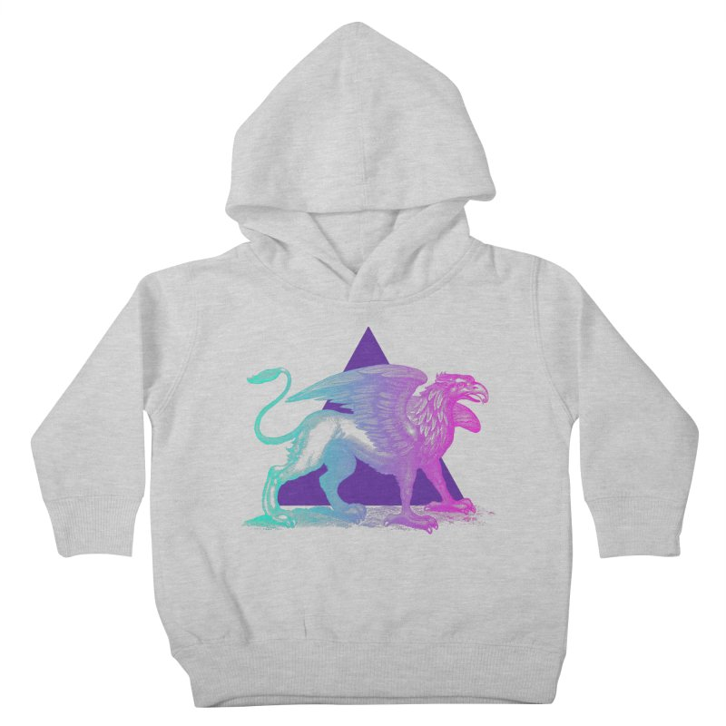 Griffin V2.0 Kids Toddler Pullover Hoody by Wild Roots Artist Shop