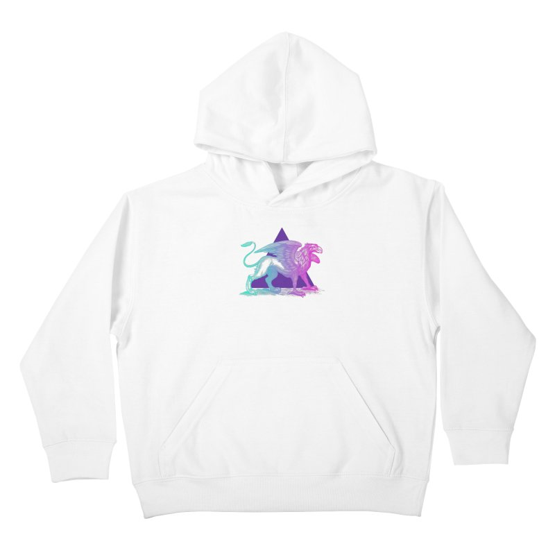 Griffin V2.0 Kids Pullover Hoody by Wild Roots Artist Shop