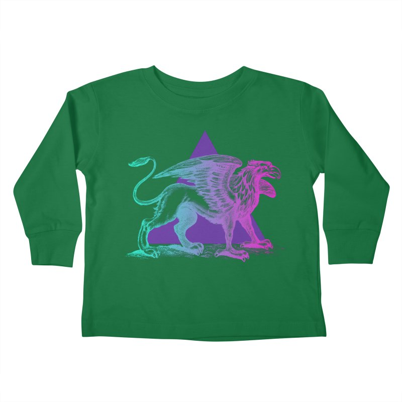 Griffin V2.0 Kids Toddler Longsleeve T-Shirt by Wild Roots Artist Shop