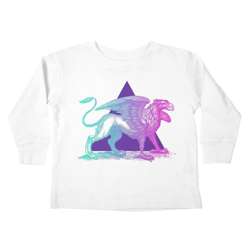 Griffin V2.0 Kids Toddler Longsleeve T-Shirt by Wild Roots Artist Shop