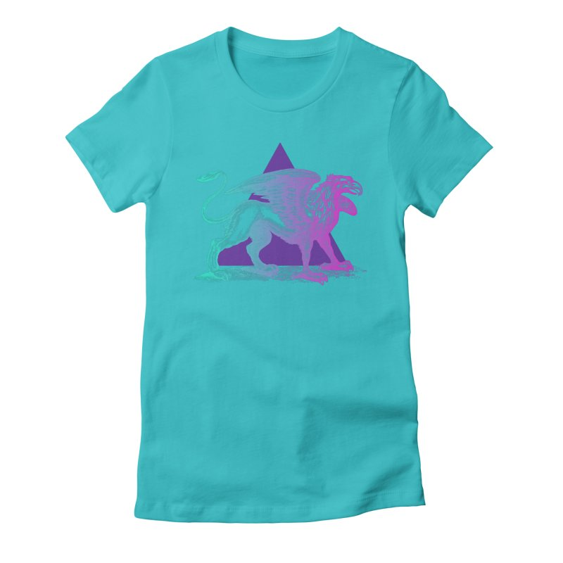 Griffin V2.0 Women's Fitted T-Shirt by Wild Roots Artist Shop