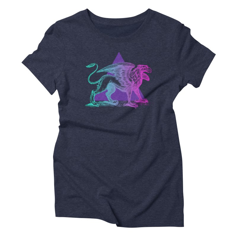 Griffin V2.0 Women's Triblend T-Shirt by Wild Roots Artist Shop