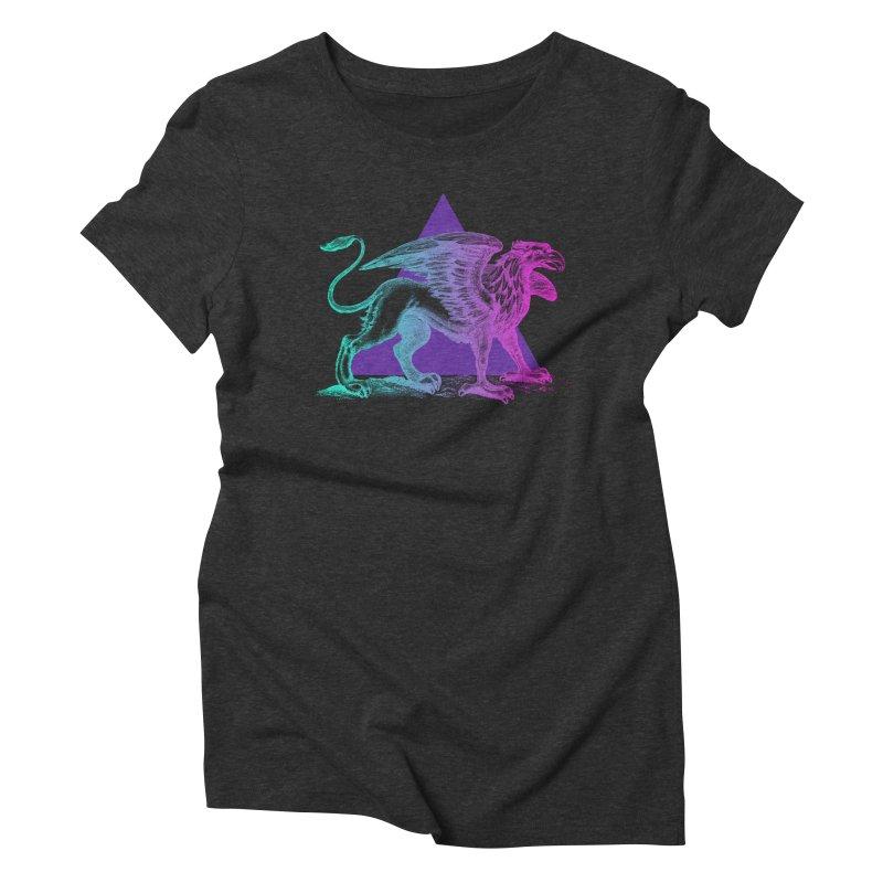Griffin V2.0 Women's Triblend T-Shirt by Wild Roots Artist Shop