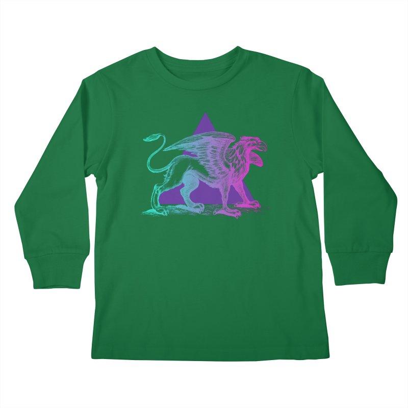 Griffin V2.0 Kids Longsleeve T-Shirt by Wild Roots Artist Shop