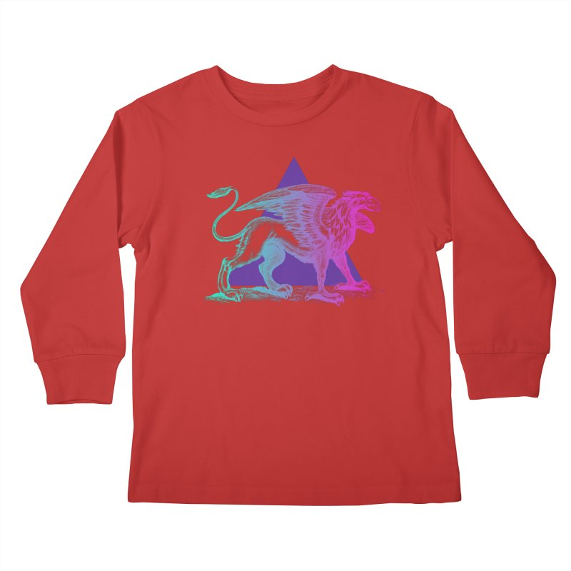 Griffin V2.0 Kids Longsleeve T-Shirt by Wild Roots Artist Shop