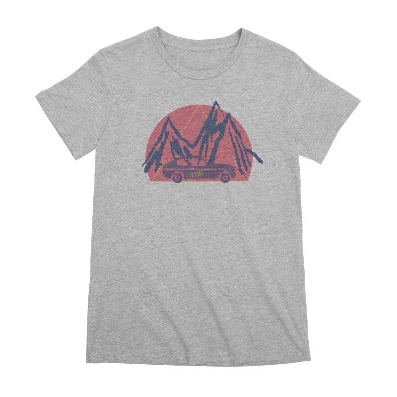 Wander Woman Women's Premium T-Shirt by Wild Roots Artist Shop