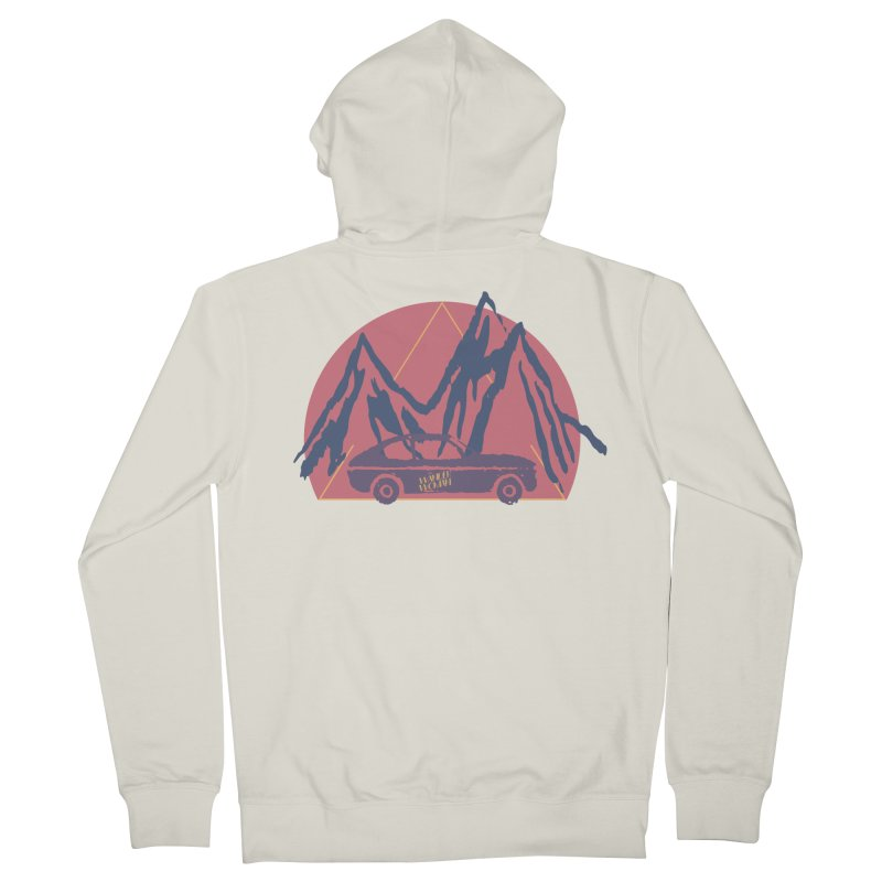 Wander Woman Men's French Terry Zip-Up Hoody by Wild Roots Artist Shop