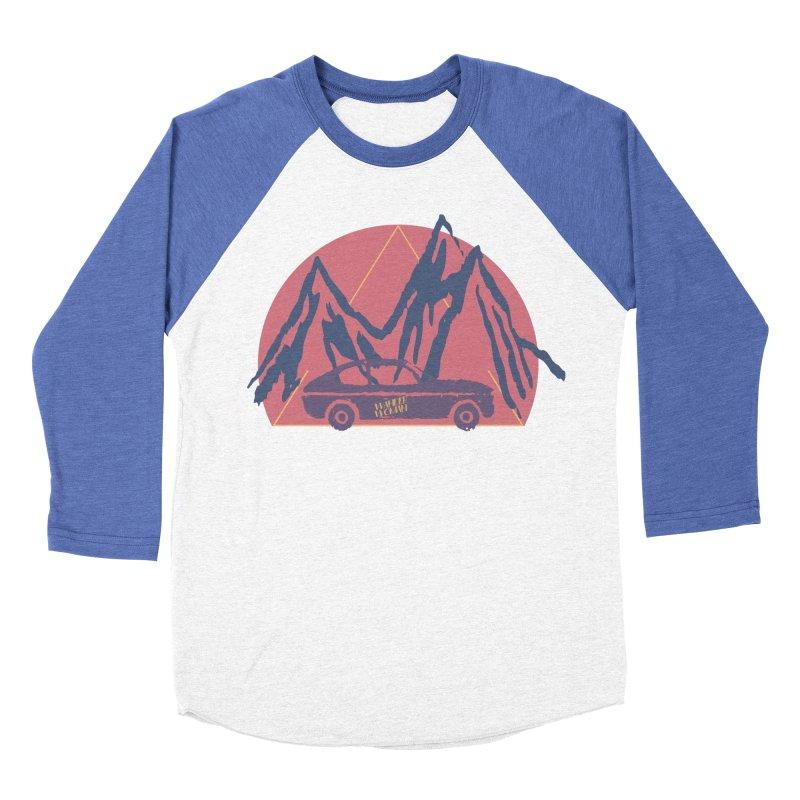 Wander Woman Men's Baseball Triblend Longsleeve T-Shirt by Wild Roots Artist Shop