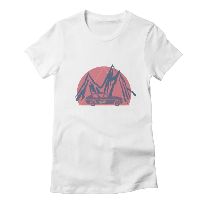 Wander Woman Women's Fitted T-Shirt by Wild Roots Artist Shop