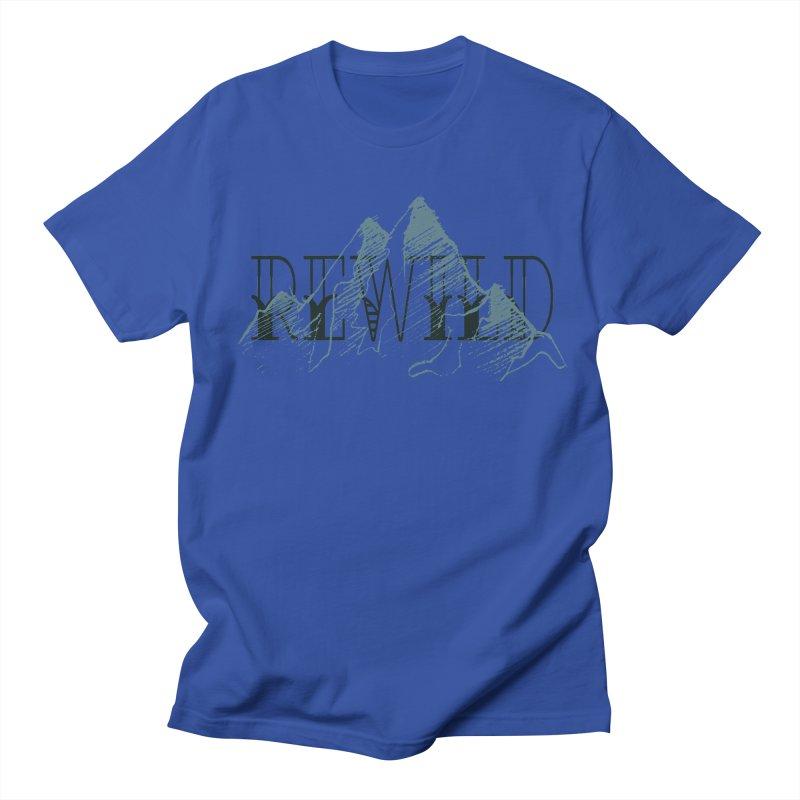 REWILD Women's Regular Unisex T-Shirt by Wild Roots Artist Shop