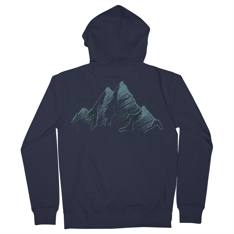 REWILD Men's French Terry Zip-Up Hoody by Wild Roots Artist Shop