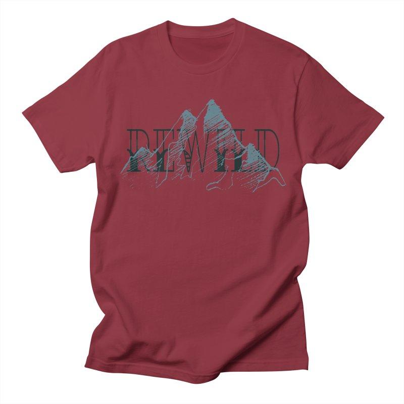 REWILD Men's Regular T-Shirt by Wild Roots Artist Shop