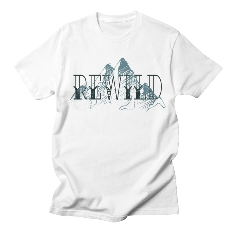 REWILD Men's Regular T-Shirt by Wild Roots Artist Shop