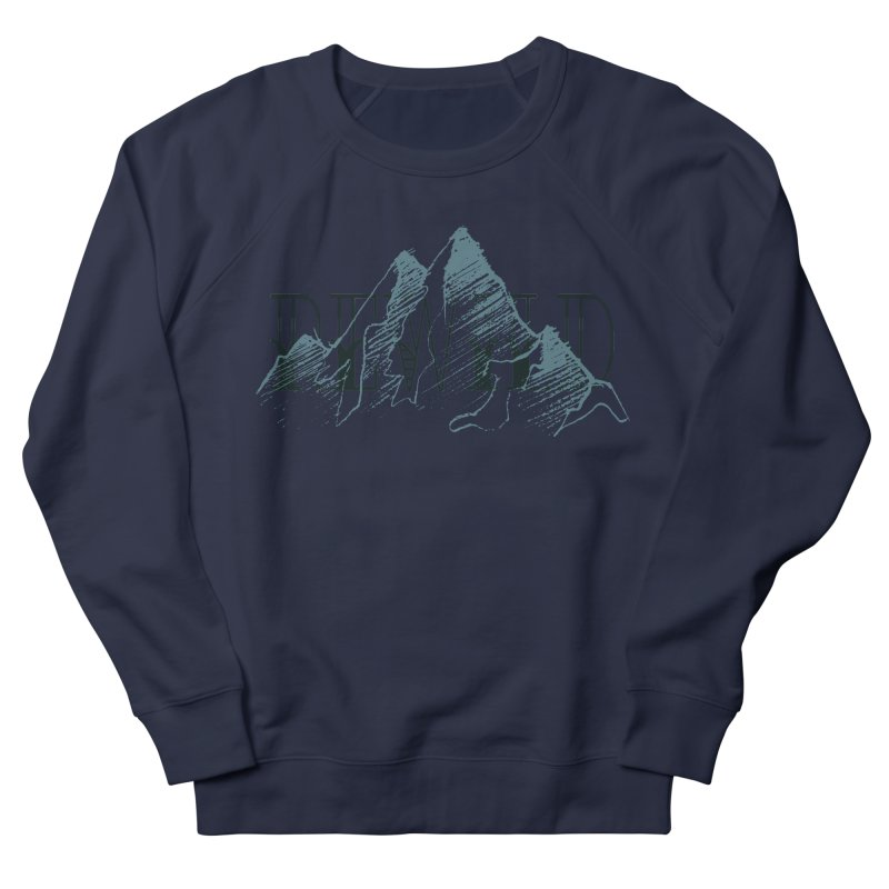REWILD Men's French Terry Sweatshirt by Wild Roots Artist Shop