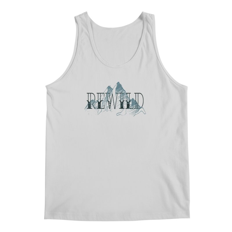 REWILD Men's Regular Tank by Wild Roots Artist Shop