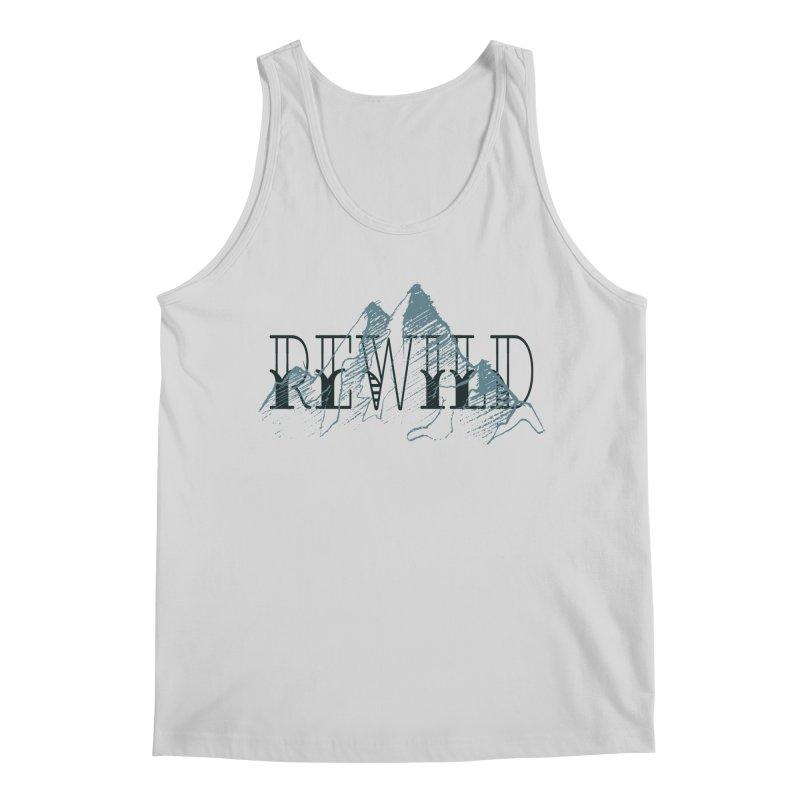 REWILD Men's Regular Tank by Wild Roots Artist Shop