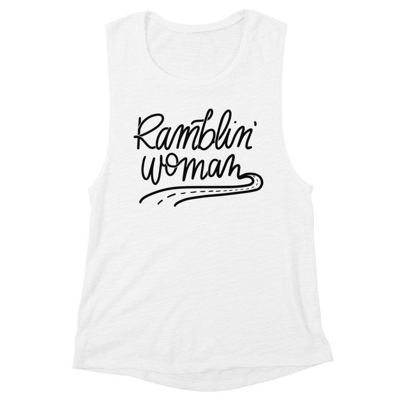 Ramblin' Woman T-Shirt Women's Tank by Wild We Wander's Shop
