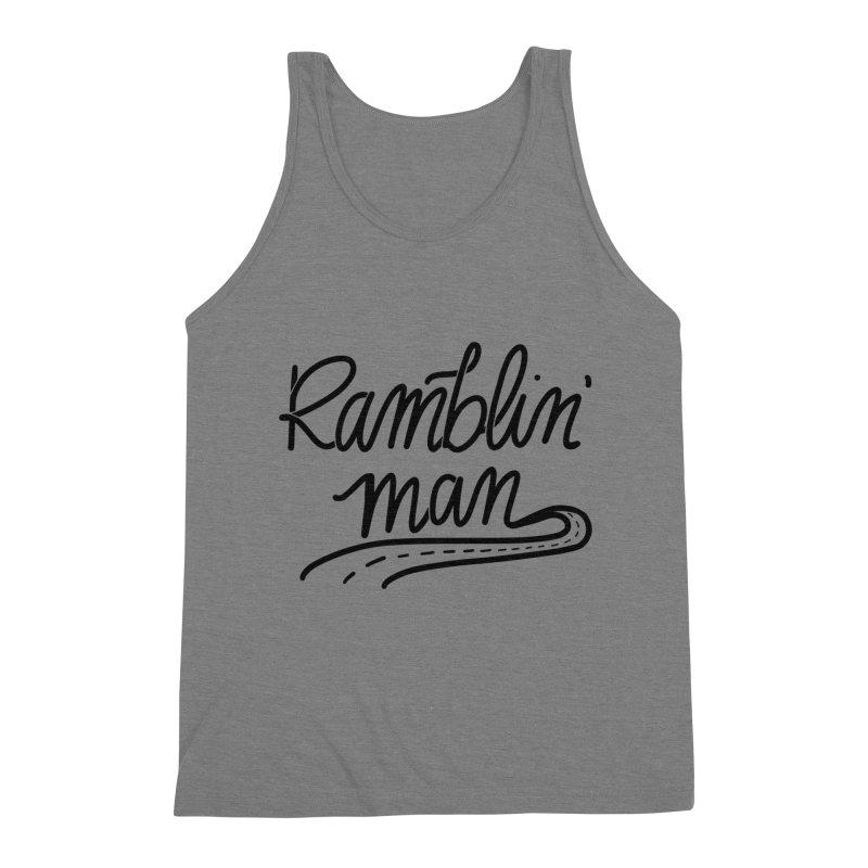Ramblin' Man T-Shirt Men's Tank by Wild We Wander's Shop